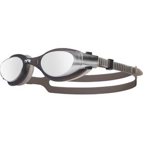 TYR Vesi Okulary pływackie lustrzane, silver/black